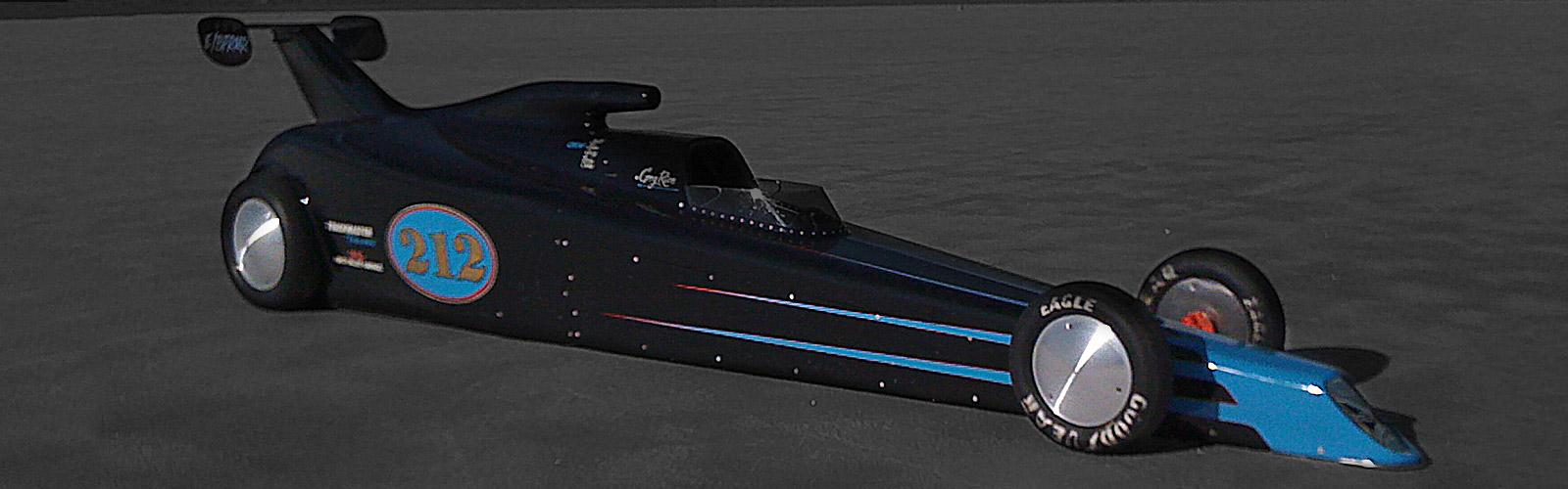 Bonneville Salt Flats Racer