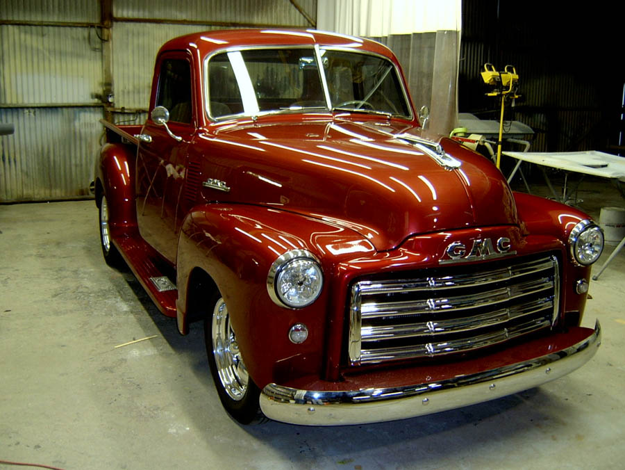 1953 gmc 5 window truck for 1953 5 window