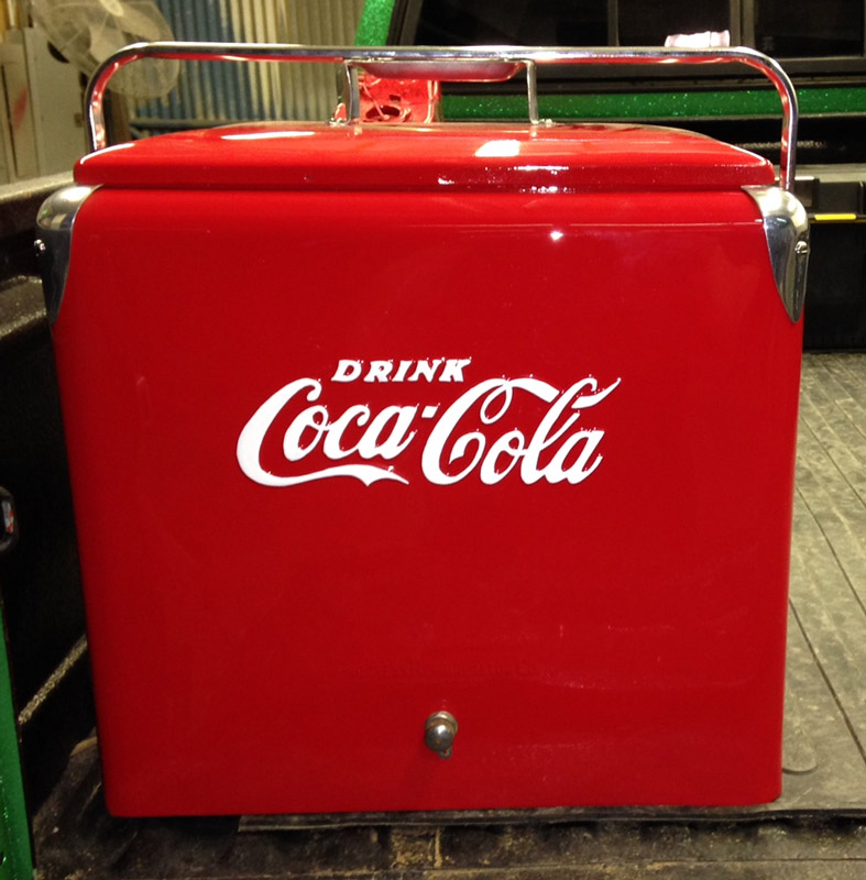 Coca Cola Cooler Restoration