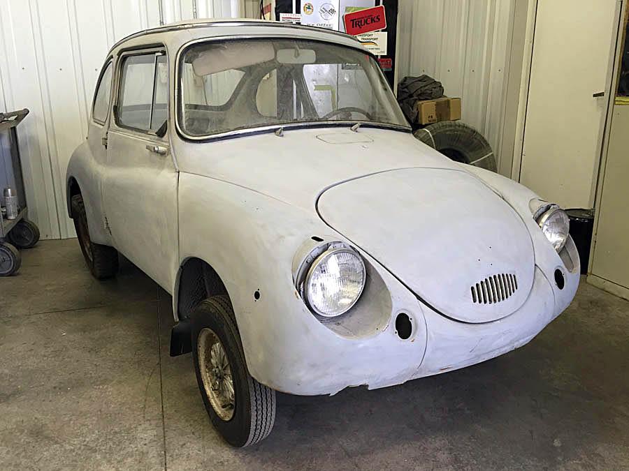 1970 Subaru 360 Restoration and Fabrication