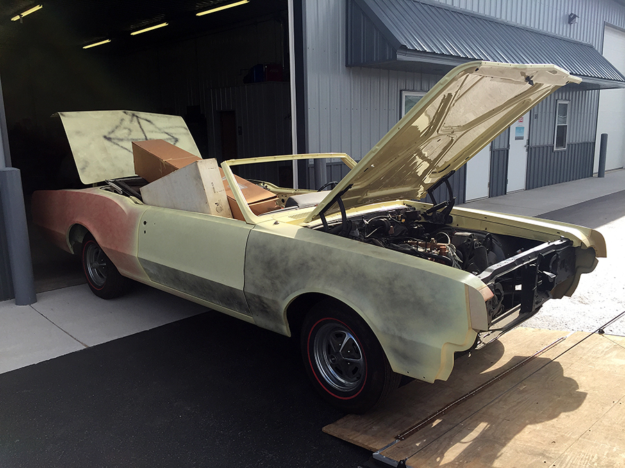 1967 Oldsmobile 442 Restoration and Fabrication