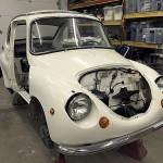 1970 Subaru 360 Restoration and Fabrication by HNH Rod Shop, Kaukana Wisconsin