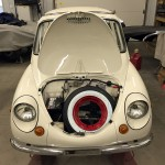 1970 Subaru 360 Restoration and Fabrication by HNH Rod Shop, Green Bay, Wisconsin